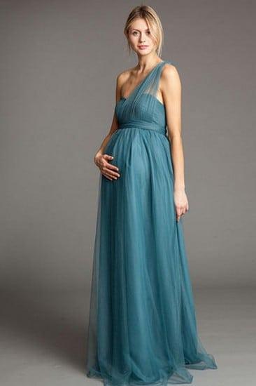 7484a874e3698 فستان أخر من فساتين الحوامل الطويلة، باللون ...