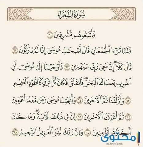 فضل قراءة سورة الشعراء6