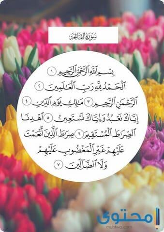 فضل قراءة سورة الفاتحة1