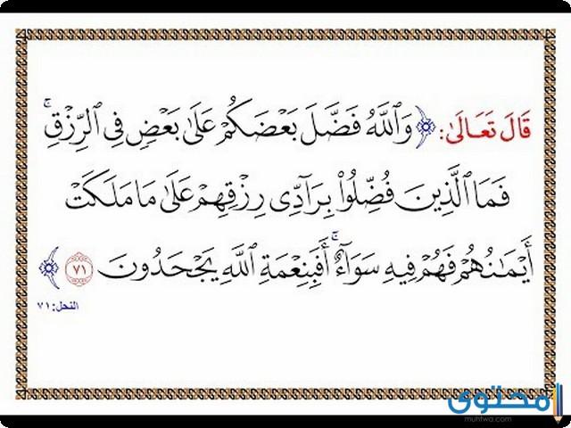 فضل قراءة سورة النحل3