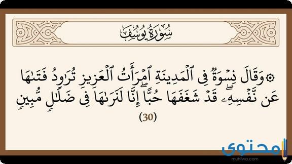 فضل قراءة سورة يوسف1