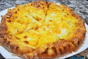 طريقة عمل فطيرة الجبنة بالعسل