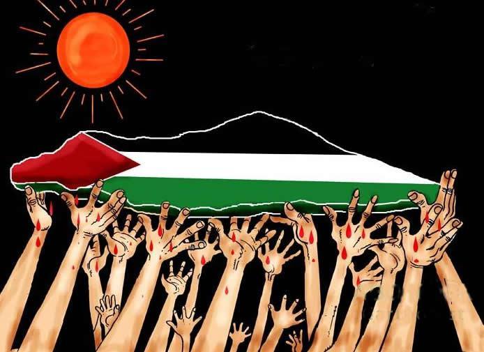 ابيات عن فلسطين