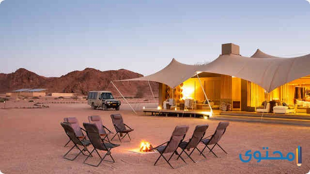 فندق Hoanib Skeleton Coast Camp