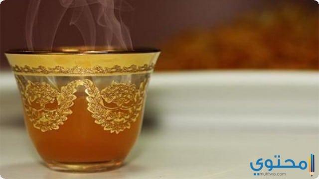 خلقيات فنجان قهوة عربية