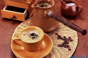 خلفيات فنجان قهوة عربية