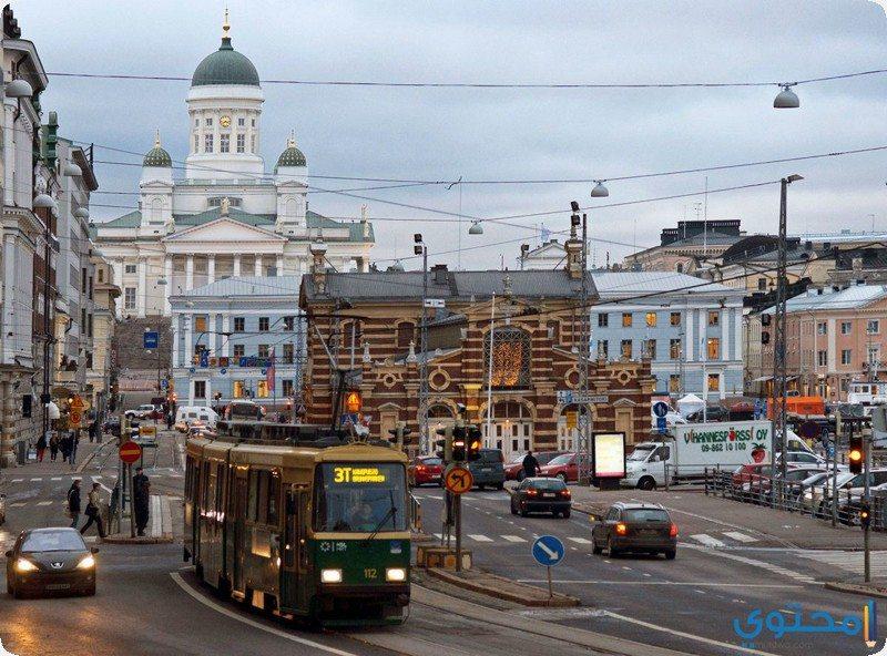 مدينة فنلندا