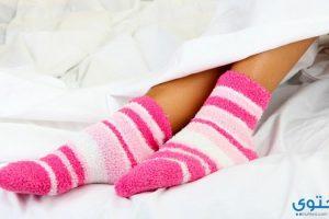 فوائد ارتداء الجوارب أثناء النوم
