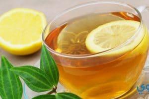 فوائد الشاي بالليمون للتخسيس