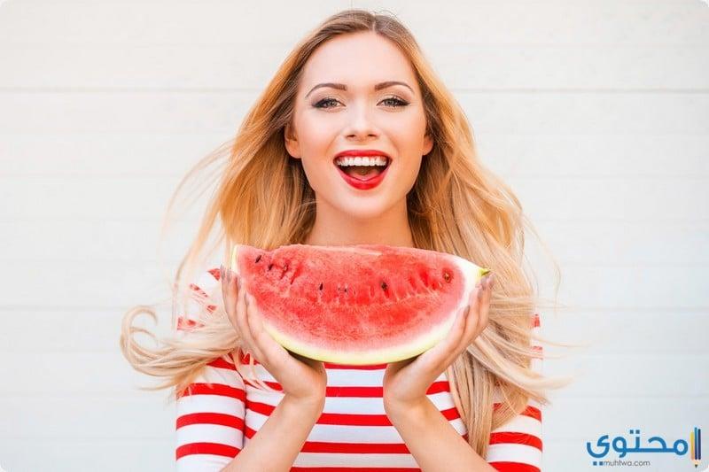 فوائد بذور البطيخ للشعر
