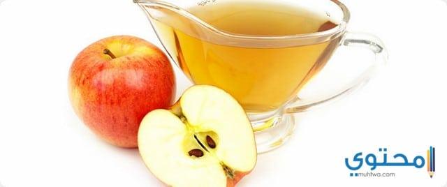خل التفاح لعلاج الحروق