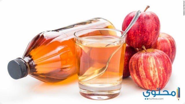 خل التفاح لإزالة السعال