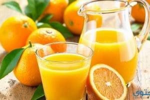 فوائد عصير البرتقال للصحة والبشرة