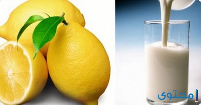 فوائد عصير اللبن مع الليمون