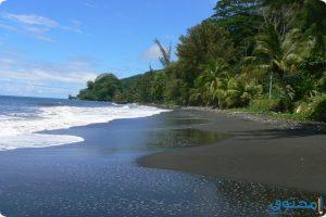 اجمل شواطيء الرمال السوداء في العالم بالصور