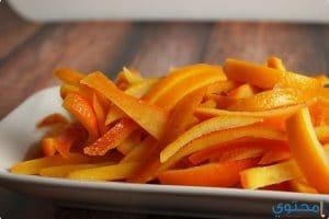فوائد قشر البرتقال وطرق تجفيفه
