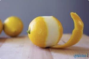 فوائد وإستخدامات قشر الليمون