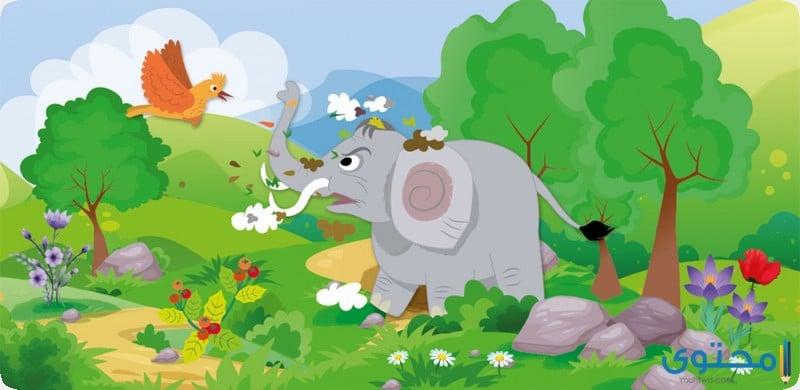 قصة الفيل المغرور