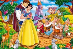 قصص خيالية للأطفال (قصة بياض الثلج والاقزام السبعة)