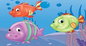 قصص اطفال ( قصة السمكات الثلاثة )