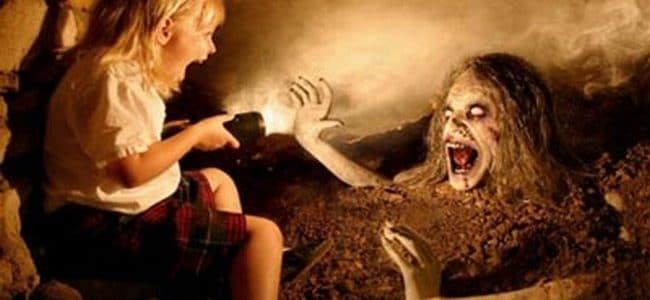 قصة مرعبة عن الجن (قصة سيدة المقبرة)