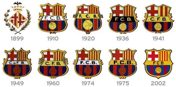 قصة شعار برشلونة