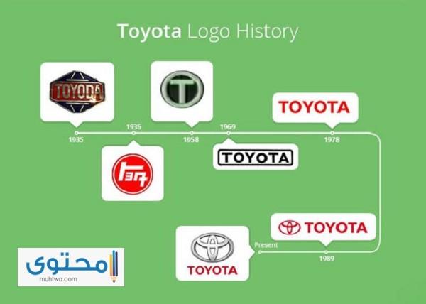 قصة شعار تويوتا