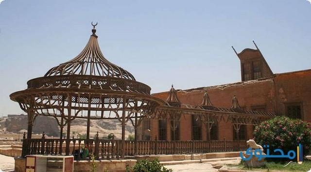قصر الجوهرة تحفة معمارية فى قلعة صلاح الدين الأيوبى