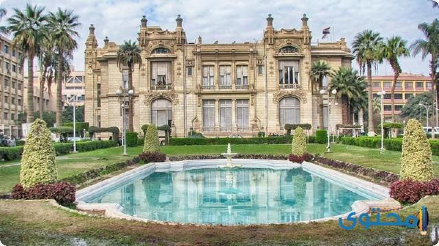 قصر الزعفران .. المبنى الإدارى لجامعة عين شمس حاليا
