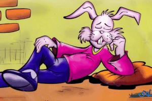 قصص اطفال عن الكذب (قصة أرنوب والكذب)