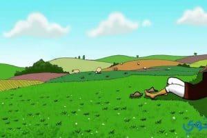 قصص مشوقه للأطفال حديثة ( قصة الراعي وشجرة التوت)