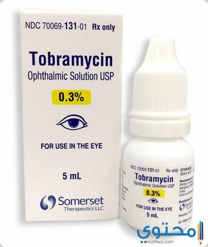 دواعي استخدام قطرة توبراميسين