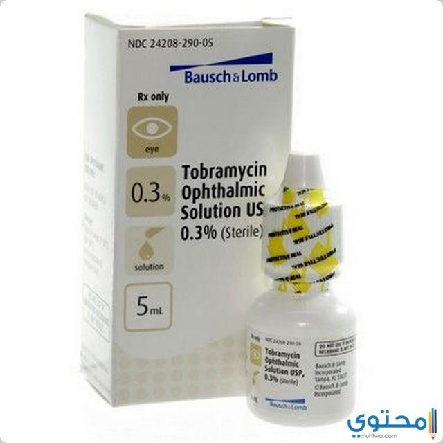 التفاعل العقاري مع قطرة عين توبراميسين