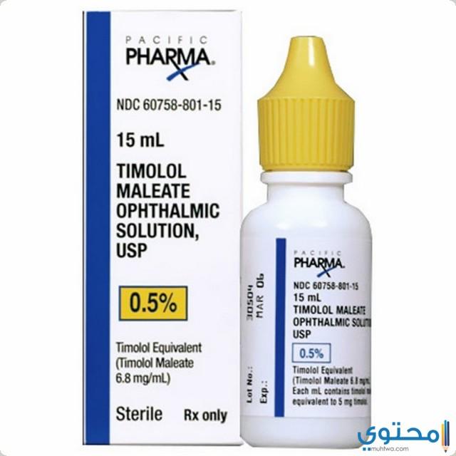 الأعراض الجانبية لقطرة تيمولول