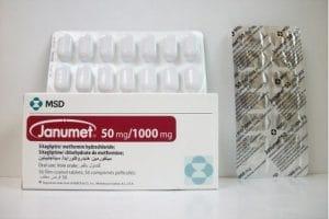 جانوميت Janumet أقراص لعلاج السكر من النوع الثاني