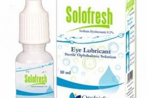 سولوفريش Solofresh قطرة عين لعلاج الالتهابات