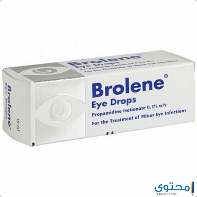 الآثار الجانبية لقطرة عين برولين
