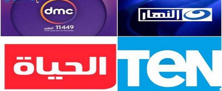 تردد القنوات المصرية الحديثة 2019