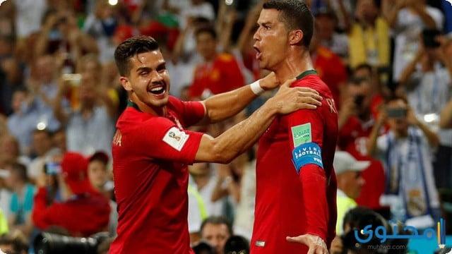 كريستيانو مع البرتغال 2018