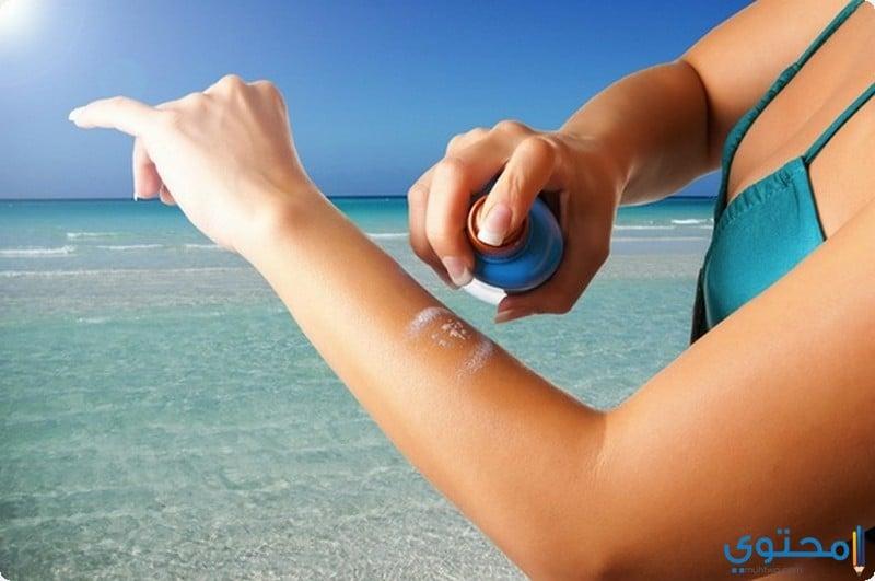 كريمات تساعد على التخلص من حروق الشمس