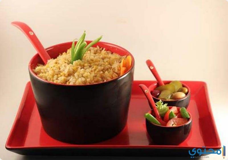 طريقة تحضير الكشري الأصفر من المطبخ المصري - موقع محتوى