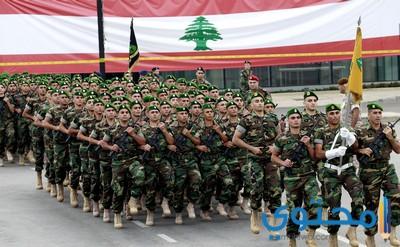 كلمات مدح وأشعار عن الجيش اللبناني