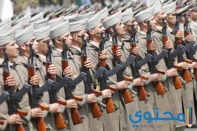 كلمات وأشعار عن الجيش المغربي