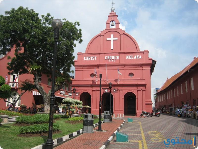 كنيسة المسيح في ملاكا ماليزيا
