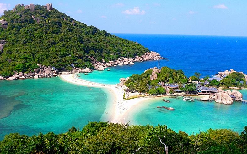 خليج كو نانغ يوان في تايلندا