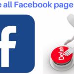 كيفية حذف جميع منشورات الفيس بوك