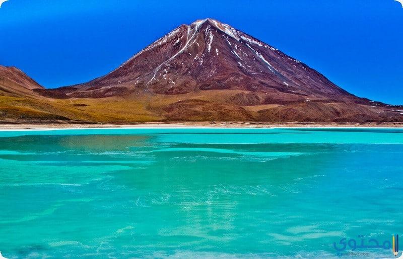 بحيرة لاغونا فيرد بوليفيا