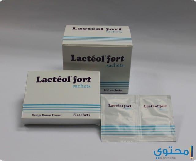 دواعي الاستعمال الدواء لاكتيول فورت