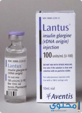 الاحتياطات والموانع لاستعمال دواء لانتوس