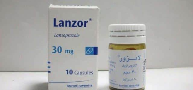 لانزور Lanzor لعلاج قرحة المعدة وارتجاع المريء